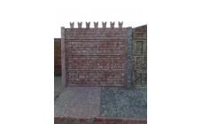 """Забор """"Кремлевская стена"""""""