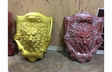Голова Льва (красный/золотой) UB00007
